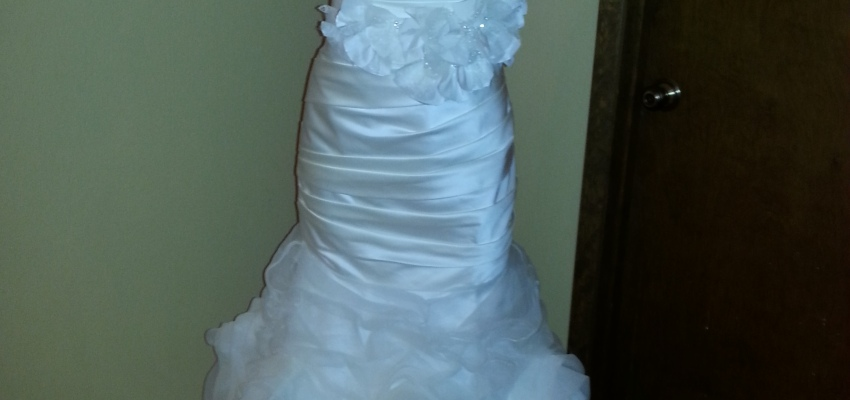 Found The Gown!   Fabulous fashion for the budget-savvy bride